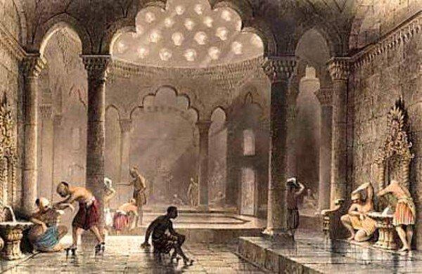 középkori török fürdő